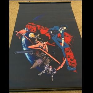 Cowboy Bebop wall scroll